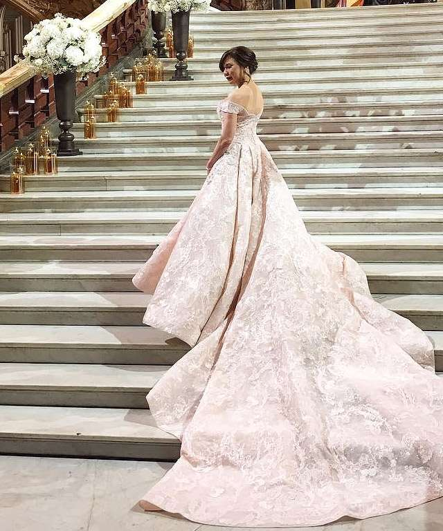 10 Gorgeous Celeb Wedding Gowns And The Designers Behind