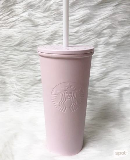 5c773be6321 Starbucks Spring Blossom Millennial Pink Cold Cup