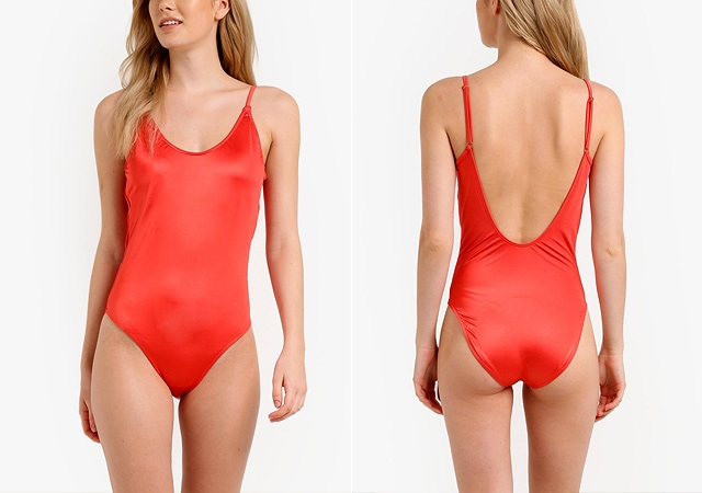 3134b0fff4 Phoenix Thin Strap One Piece Swimsuit (P1,199) from Cotton On