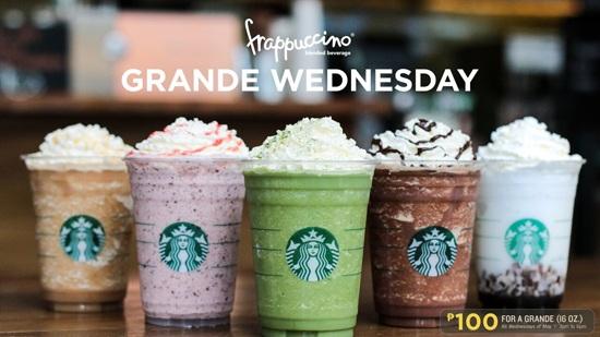 Starbucks menu challenge 2018