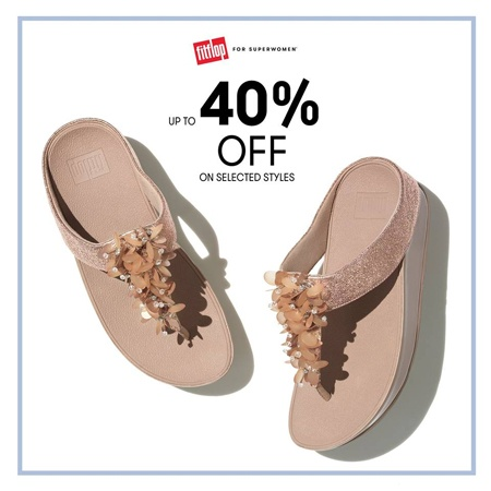 95f635abe FitFlop SuperWomen 40% Off Sale May 2018
