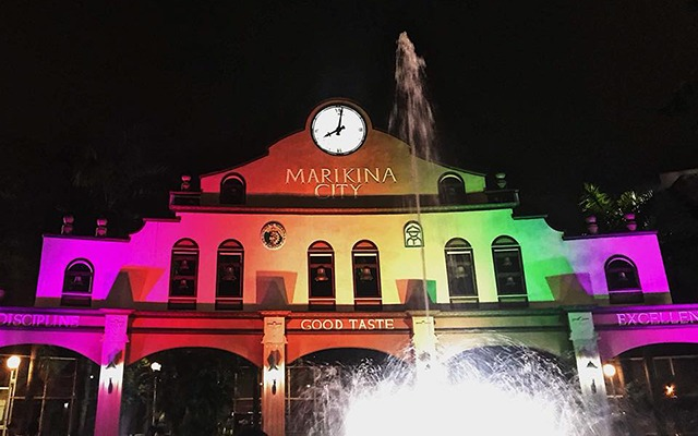 Marikina preps for pride month spot marikina sports center is all lit up for pride month stopboris Gallery