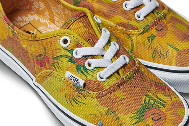 Popular Shoe Company Puts The 'Van' In Van Gogh