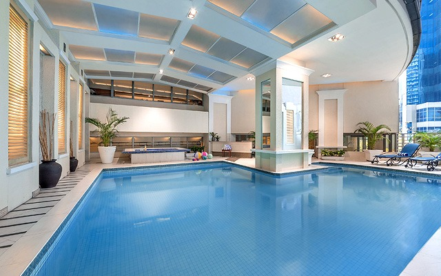 Great indoor hotel swimming pools in metro manila for Ymca manila swimming pool rates