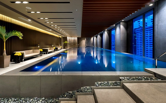Great indoor hotel swimming pools in metro manila - Indoor swimming pool in los angeles ...