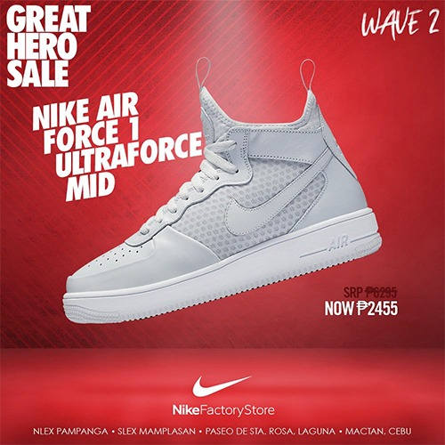 e40a07b7e Nike Factory Store Great Hero Sale August 2018