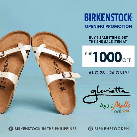 Promo 3 Glorietta Opening Uzvsmqpg Birkenstock Store XOPZTiku