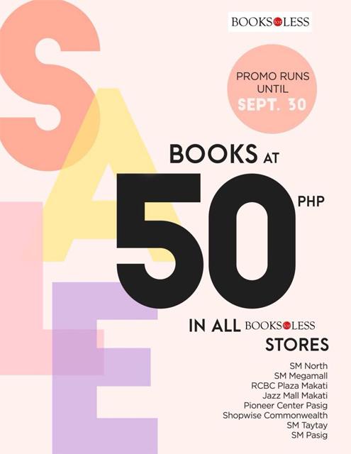 books for less p50 sale september 2018 spot ph
