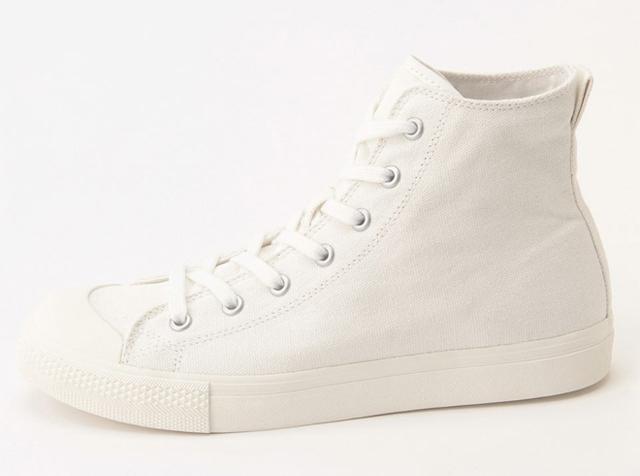 MUJI Water-Repellent High-Cut Sneakers