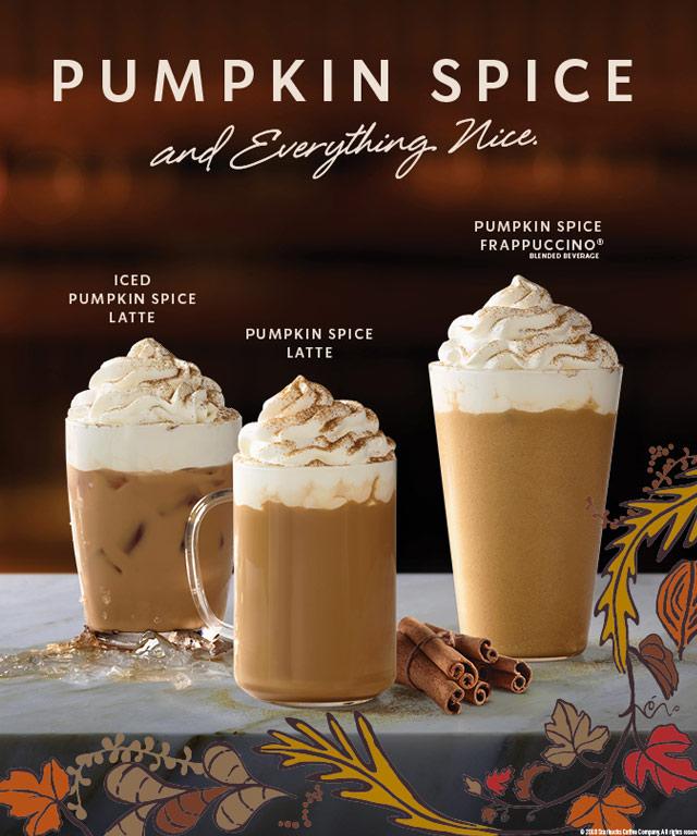 Starbucks Now Offers Pumpkin Spice Latte In Manila