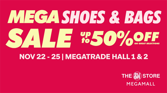 3ce55128506 Mega Shoes and Bags Sale November 2018