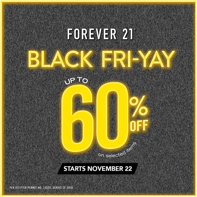 badc61353026aa Forever 21 Black Friday Sale