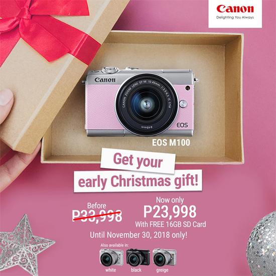 Canon Eos M100 Mirrorless Camera Sale Price