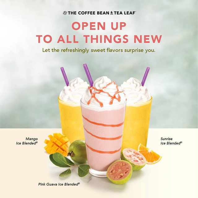 Coffee Bean and Tea Leaf Launches the Pink Guava Ice Blended