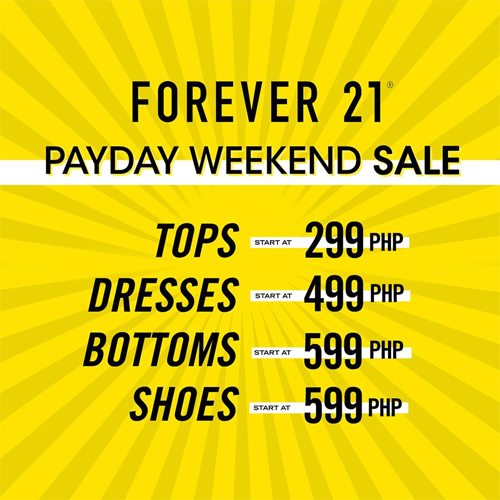 aaf5e897630 March 2019 Payday Weekend Sales