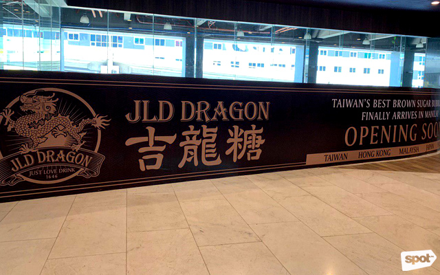 JLD Dragon Is Opening at Robinsons Galleria