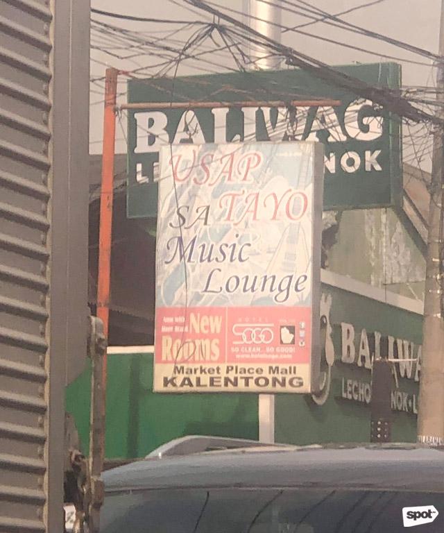 Random Photo of the Week: Usap Tayo sa Music Lounge