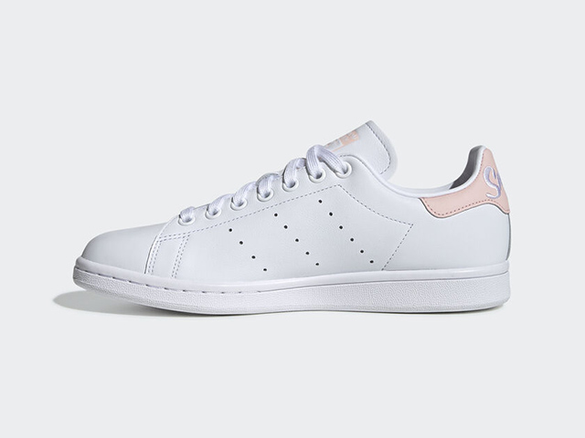 Adidas' Latest Stan Smith Sneaker Features Pastel Pink Accents