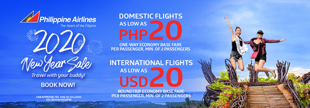 Philippine Airlines 2020New Year Sale