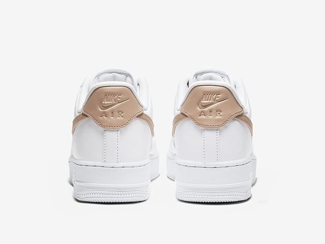 The New Nike Air Force 1 Sneaker Features Chic Nude Accents