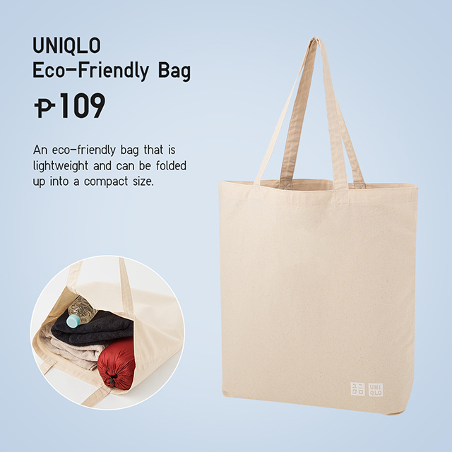 Uniqlo Now Has Reusable Canvas Tote Bags