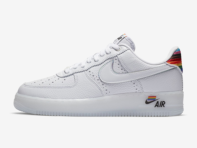 Nike Releases Air Force 1 With Rainbow