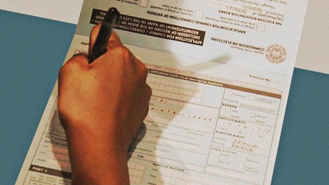 voter's registration
