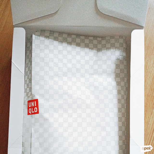 Uniqlo AIRism face mask