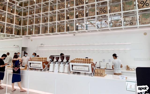 Minimalist Cafes