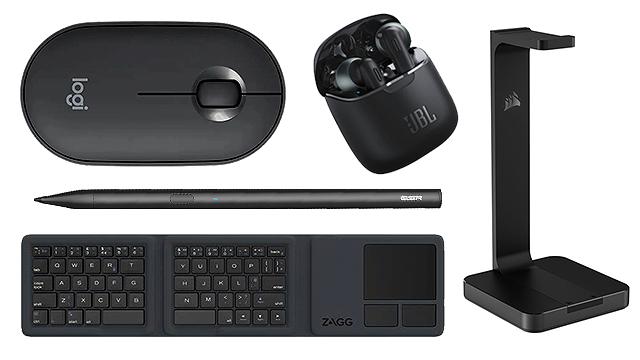 black gadgets