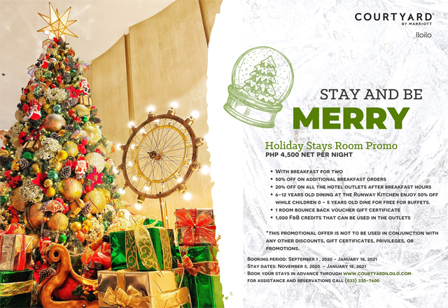 Assistance With Christmas 2021 Have A Merry Christmas Stay With This Hotel S Holiday Promo