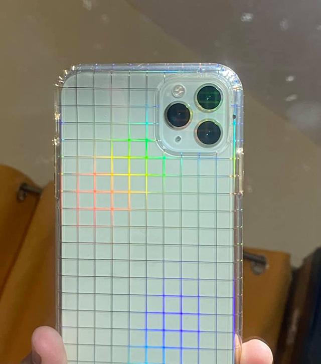 Bretman Rock's holographic phone case