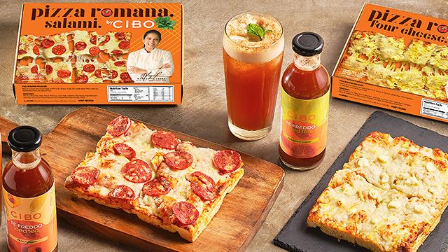 ready to heat pizzas by cibo