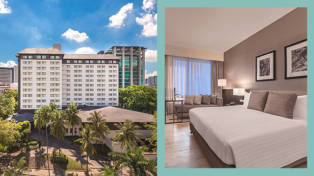 staycation for only P3300