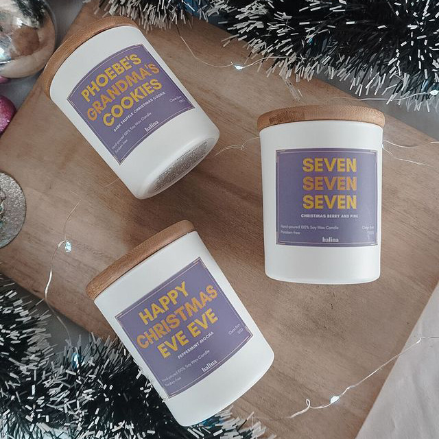 Friends-Themed Scented Candles