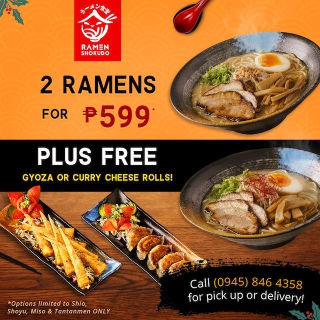 Discounts in Manila Restos