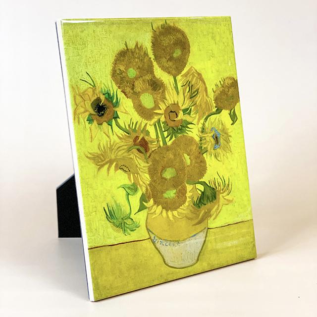 Ceramic tiles Sunflowers
