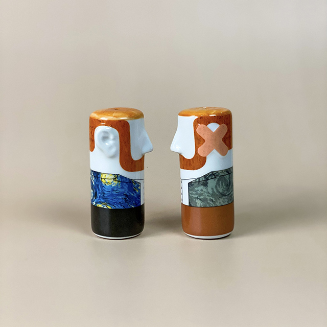 Van Gogh Bandage Sale and Pepper Shakers