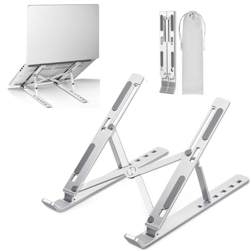 Plastic adjustable laptop stand (P150) from On Lemon