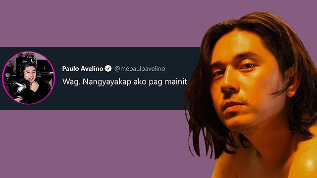 Paulo Avelino Tweets