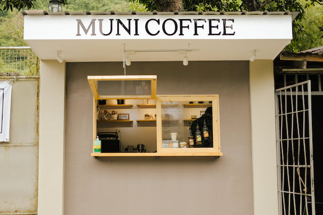 Minimalist Coffee Shop