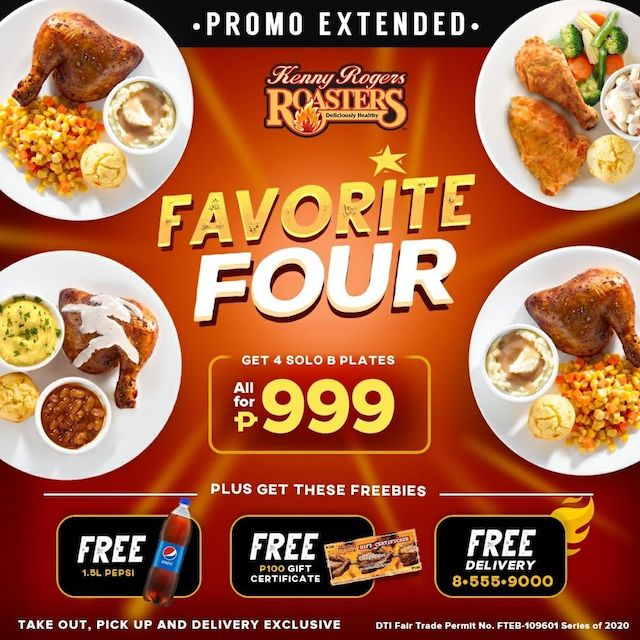Kenny Rogers Roasters Philippines