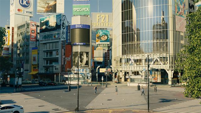 Empty Shibuya Crossing, Alice in Borderland