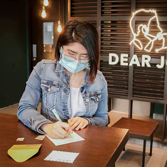 First Letter-Writing Café