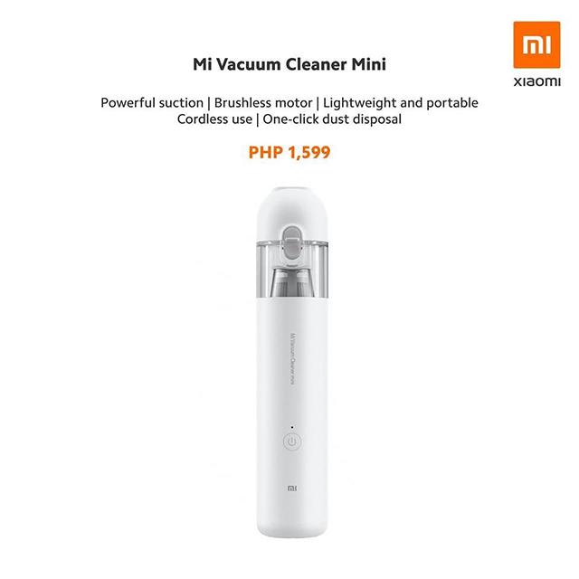 Wireless Mini Vacuum
