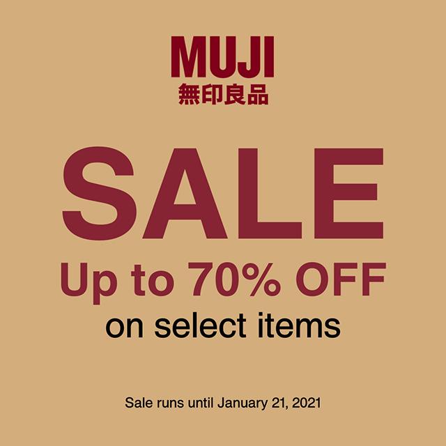 MUJI exclusive sale