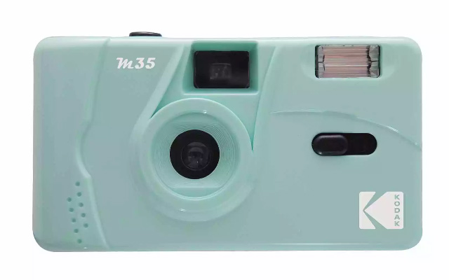 Kodak M35 Film Camera in Green
