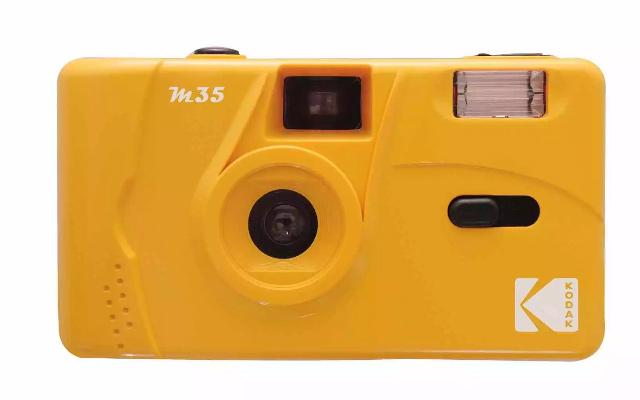 Kodak M35 Film Camera in Yellow