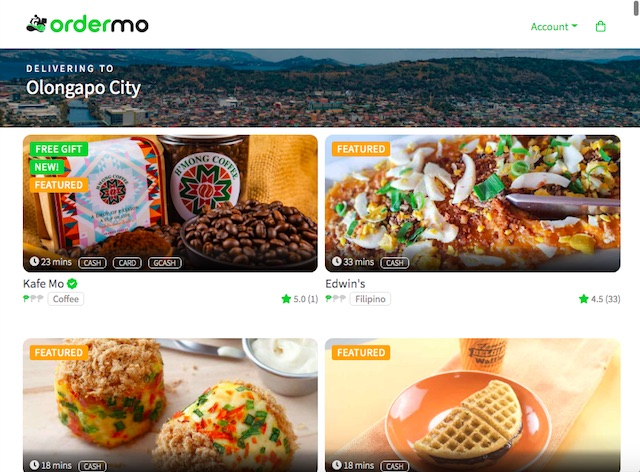 Food Delivery Ordermo