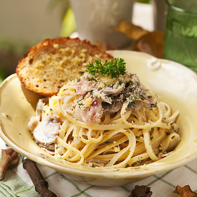 Classic Carbonara by Mary Grace Cafe